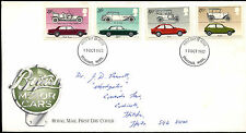 GB FDC 1982 CBritish Motor Cars, Stevenage FDI  #C39511