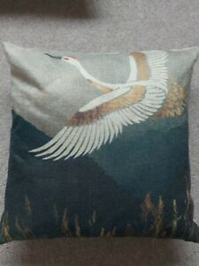 cushions, 2, dark green and gold, gorgeous, perfect condition, used