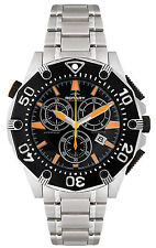 Rotary AGB90036/C/04 Aquaspeed Black Dial Stainless Chronograph Women's Watch