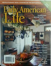 Early American Life Oct 2016 Traditions Period Style Antiques FREE SHIPPING sb