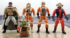 Star Wars Power of the Force Pilot Luke Biggs Darklighter Nien Nunb Lando Yoda