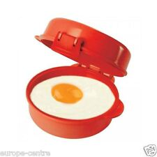 Sistema - Microwave Easy Eggs - One perfect egg Red Klip It BPA Free 271ml