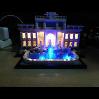 LED Light Kit Fit To Lego Block 21020 Trevi Fountain Architecture Lighting Gift