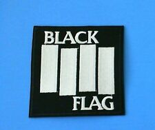 Black Flag Band Iron On Patch! New Punk Rock Henry Rollins