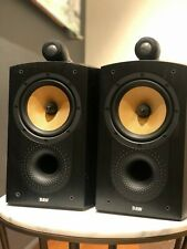 B&W 805 Nautilus Speakers Pair Black - Used Tested Good Condition (check notes)