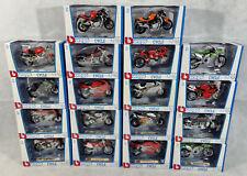 Large Collection Bburago 1.18 Scale Motorbikes, Bburago Cycle, BNIB, Collectable
