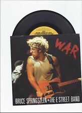 BRUCE SPRINGSTEEN MERRY CHRISTMAS BABY/WAR LIVE ORIGINAL SINGLE FROM USA
