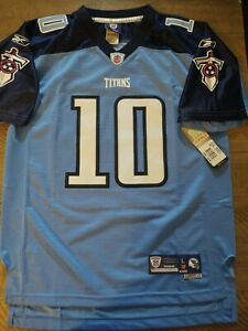 NFL Reebok Tennessee Titans Jersey Sewn Twill Number Youth Large 14-16 - NEW