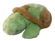 """Unipak Stuffed Plush Green Turtle 12"""""""