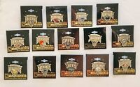 NFL Team Antique Triangle Lapel/Hat Pin - Officially Licensed - Pick your Team