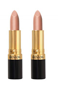 Revlon Super Lustrous Lipstick, Champagne On Ice #205, 0.15 Ounce (Pack of 2)