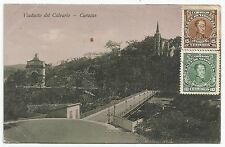 POSTCARD-VENEZUELA-CARACAS-PTD. The Calvario Bridge.