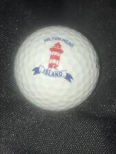 Hilton Head Island Golf Ball w/ Logo for Display Cabinet Wilson Staff 1