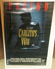 CARLITOS WAY POSTER  SPECTACULAR NEW VINTAGE RARE OOPSLATE 90'S CARLITO'S WAY
