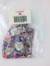 Longaberger Button Basket Liner Only May Series Petunia Nib