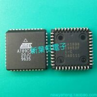 ATMEL AT89C52-20JC PLCC44 8-Bit Microcontroller with 8K