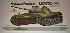Tamiya 1/35 Model Kit #164A Kampfpanzer Leopard Main Battle Tank - PARTS SEALED!
