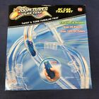 RC Car Race Track Toy 25-Pc Trax Set with 1 Blue Racer and Over 12ft of Tubes