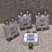 Qty (4) MINI-CIRCUITS ZAPD-4-N+ DC POWER SPLITTER COMBINER 2.0-4.2 GHz N COAXIAL