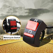 "Universal 7/8"" Motorcycle Handlebar Scooter Turn Signal HeadLight Button Switch"
