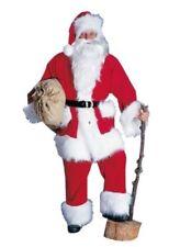 Weihnachten Herren Kostüm Weihnachtsmann mit Mütze 4-teilig aus Kord Nikolaus