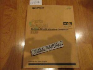 Caterpillar CS--563D CP-563D Vibratory Compactors Parts Manual