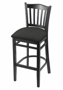 """Holland Bar Stool Co. 3120 25"""" Counter Stool with Black Finish and Canter Ear..."""