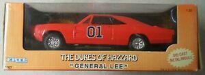 "VINTAGE 1998 THE DUKES OF HAZZARD ""GENERAL LEE"" 1:25 SCALE DIE CAST CAR ERTL"