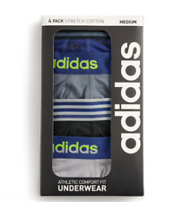 ADIDAS originals Men's adidas 4-PACK Performance COTTON Stretch BOXER Briefs