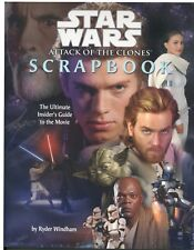 Star Wars Attack of the Clones Movie Scrapbook by Ryder Windham 2002 Paperback