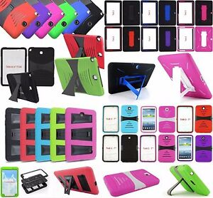 Armor Box Rugged Shockproof Kickstand Case Cover for Samsung Galaxy Tab Tablet