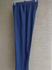 NEW   JUST MY SIZE 1X COMFORT BLEND  FLEECE LINED  SWEAT PANTS HETH. NAVY