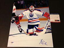 Grant Fuhr Oilers Signed Auto 11x14 Photo PSA/DNA COA