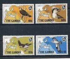 Gambia 479/82 postfrisch / Vögel .........................................1/2438