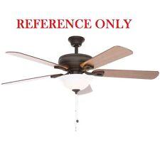 Hampton Bay Rothley 52 in. Indoor Oil-Rubbed Bronze Ceiling Fan Blade Bracket