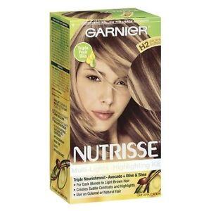 Garnier Nutrisse Nourishing Multi-Lights #H2, Golden Blonde