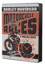 "Harley-Davidson Neon-Uhr ""RACE DAY"" Wanduhr *HDL-16627B*"