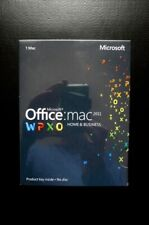 Microsoft Office for Mac 2011 Home and Business Word Excel Outlook PowerPoint