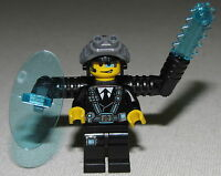 Lego New Agents Minifigure Agent Curtis Bolt Minifig From 70163 Set