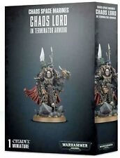 Warhammer 40k Chaos Space Marines Chaos Lord in Terminator Arm 00006000 or 43-12