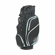 New Women's Wilson Staff Golf Cart Plus Bag Black 14 Way Full Length Dividers