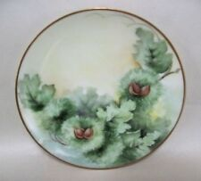 "Early 1900's Thomas Sevres Bavaria Hand Painted 8.5"" Plate Gold Trimmed"