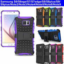 Case Cover For Samsung Note2 3 4 5 8 9 S6 S6edge S7edge S8 S9 plus Armor TPU