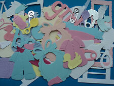 Bumper Pack Baby Themed Mixed die cuts over 100 pieces