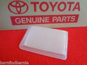 ❤️ Toyota Interior Overhead Dome Light Lens 4Runner Pickup 1984-95 OEM