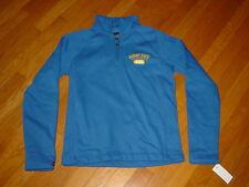 ASU ALBANY STATE Univ Golden RAMS 1/4 zipper Womens Sweatshirt NWT NEW ... SMALL
