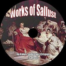 The Catiline Conspiracy & The Jugurthine War, Sallust, MP3 AudioBook 1 CD