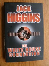 Jack Higgins The White House Connection SIGNED book plate 1st ed UK HC