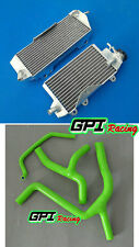 aluminum alloy radiator and hose Kawasaki and KX450F KXF450 2012 2013 2014 14 13