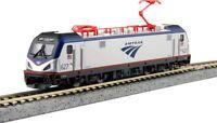 Kato 137-3002 N Scale Locomotive Siemens ACS-64 Amtrak Road #627